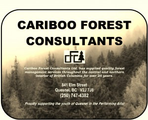 ADJUDICATOR'S CHOICE SUPPORTER - CARIBOO FOREST CONSULTANTS